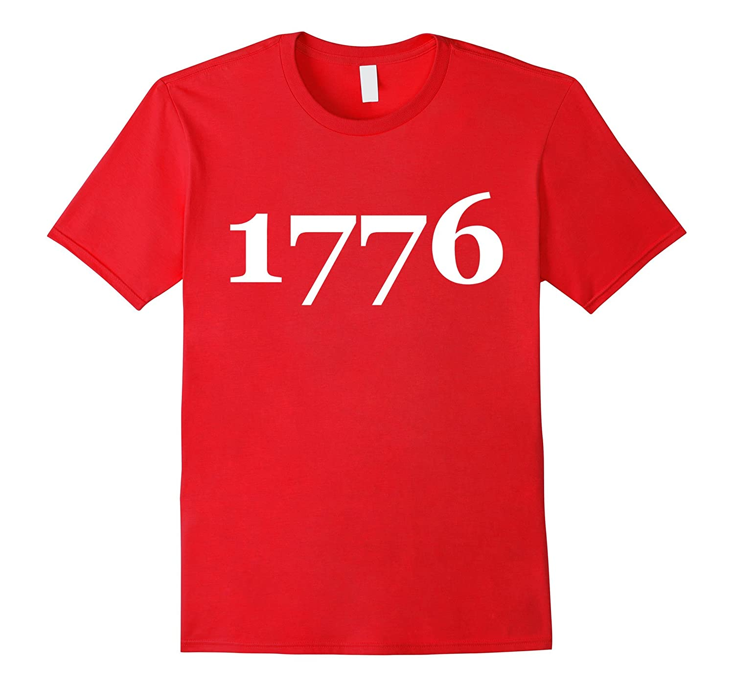 1776 The Year Declaration of Independence Unisex T-Shirt Tee-Vaci