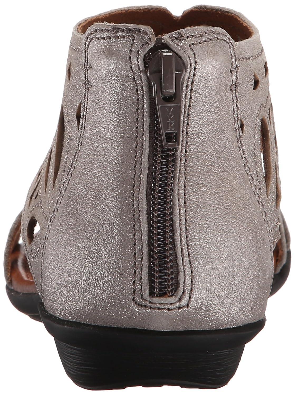 Cobb Hill Rockport Women's Jordan-CH Flat Sandal B011T86HQW 10 B(M) US|Pewter