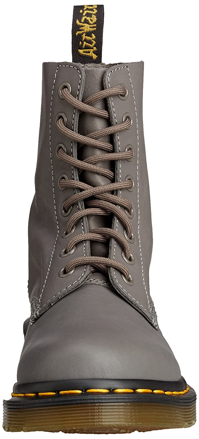 Dr. Martens Women's UK/11 Pascal Leather Combat Boot B00SBEV2V8 9 UK/11 Women's M US|Lead d456b0
