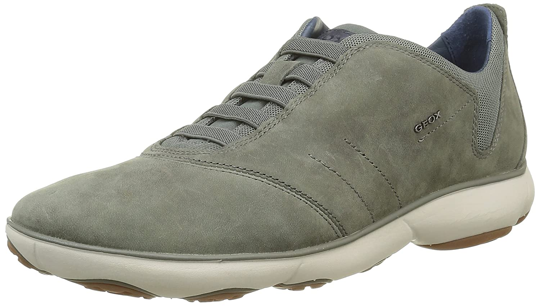 cc91729851 Amazon.com | Geox U Nebula F Mens Slip On Leather Sneakers/Shoes | Fashion  Sneakers