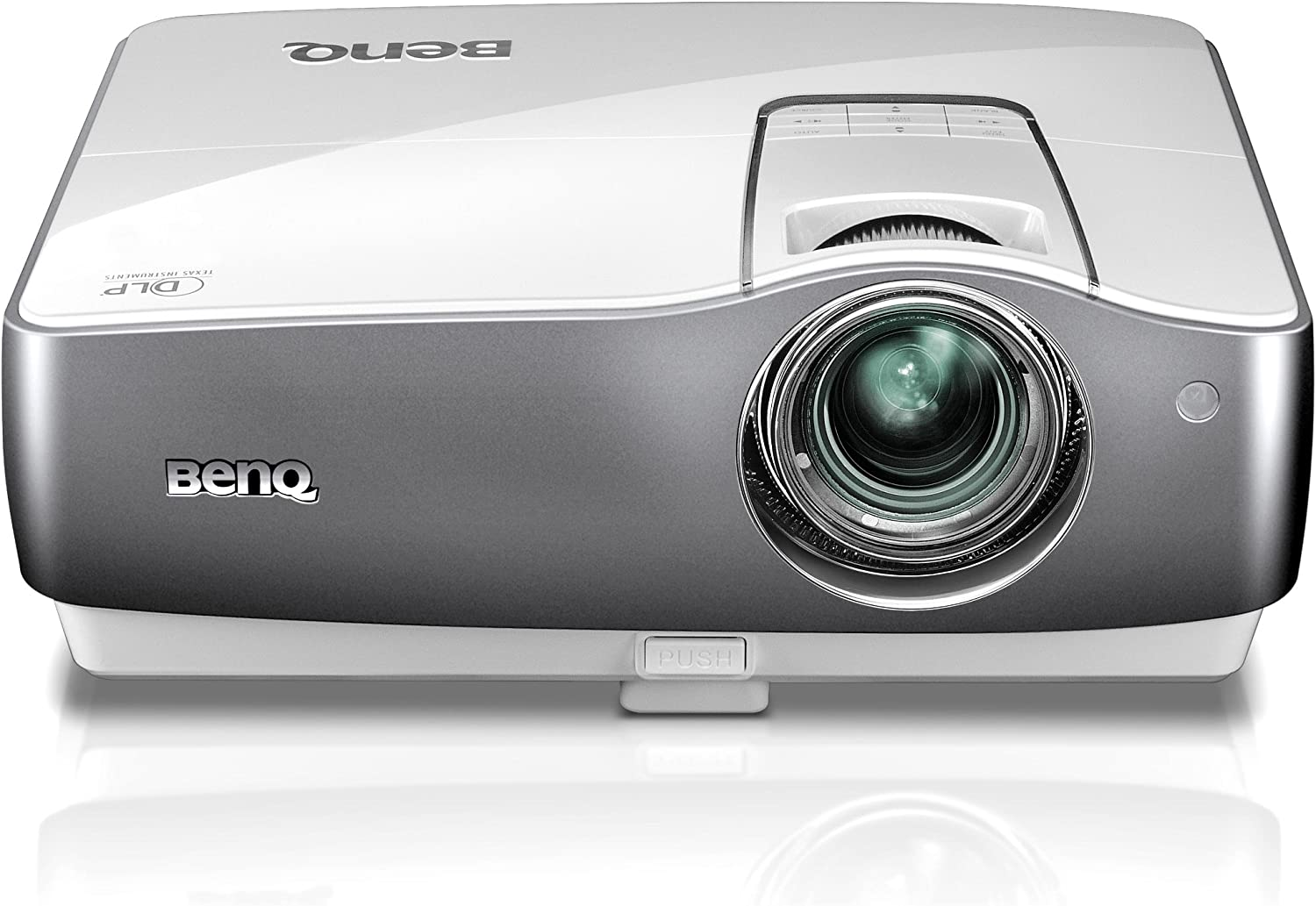 BenQ W1200 300-Inch 1080p Front Projector - White