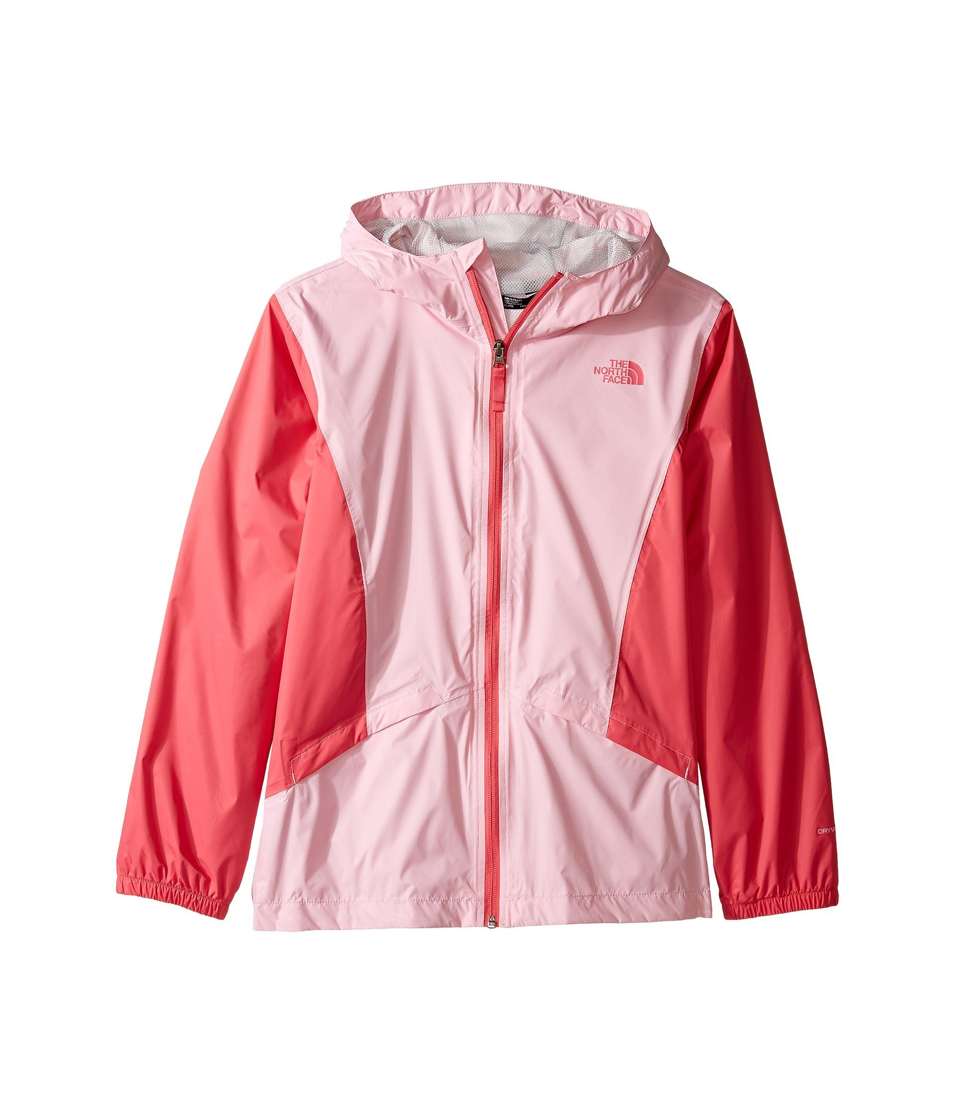 The North Face Kids Girl's Zipline Rain Jacket (Little Kids/Big Kids) Lilac Sachet Pink (Prior Season) Medium