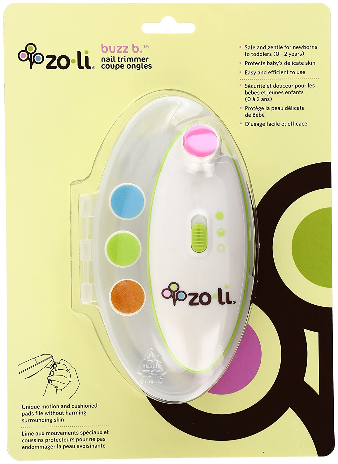 Amazon.com: Nail File Zoli (Nail Care Set) Ni-30006: Beauty