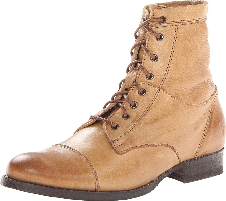 FRYE Women's Erin Work Boot, Camel
