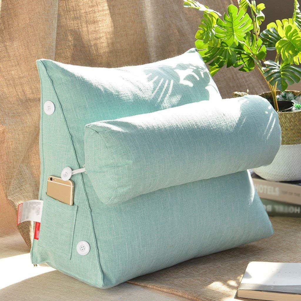 クッション| 2018新しい純粋な色の綿とリネン洗えるアメリカの枕のベッド背もたれソファの枕オフィスのウエストのサポート ファッション z B07F6QH6R6 45 cm 45 cm|9# 9# 45 cm 45 cm