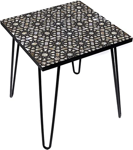 LAMOU Astral Pearl 20 Inches Side Table