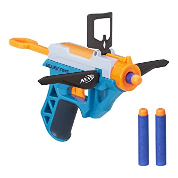 Why not get it now while it's on sale, today only, on Amazon. Score 50% off Nerf  guns + FREE Prime shipping!