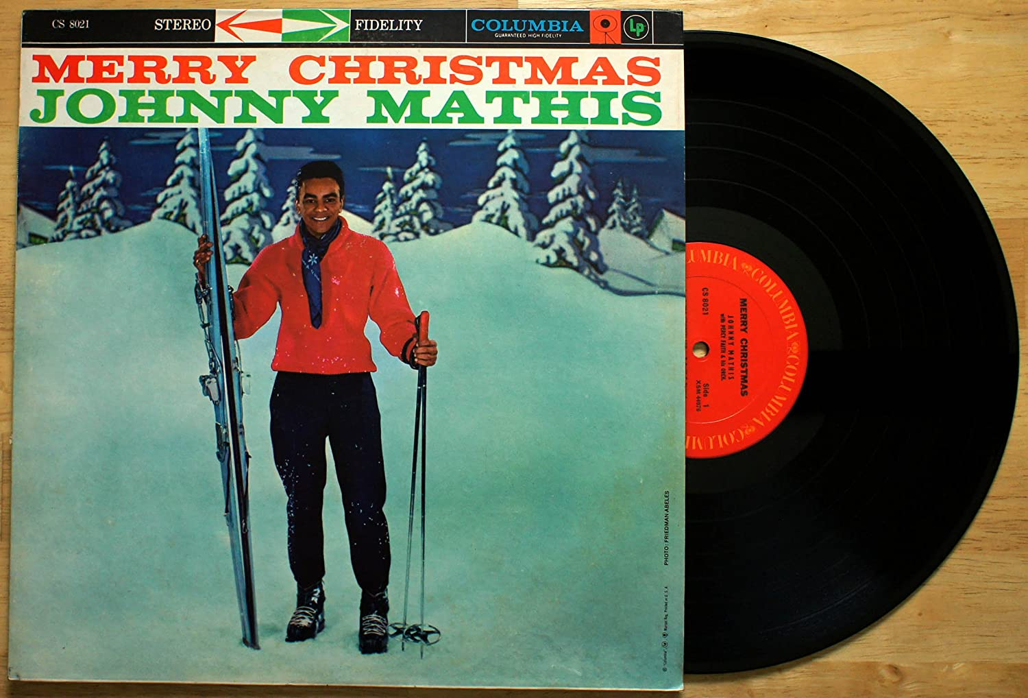 Johnny Mathis, Percy Faith & His Orchestra - Merry Christmas ...