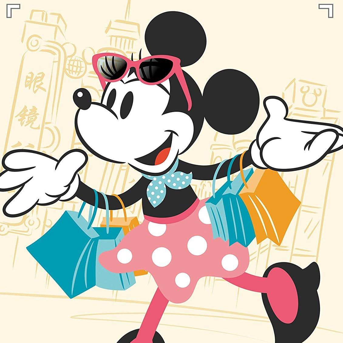 ディズニー Ipad壁紙 買い物中のミニーマウス アニメ スマホ用画像74782