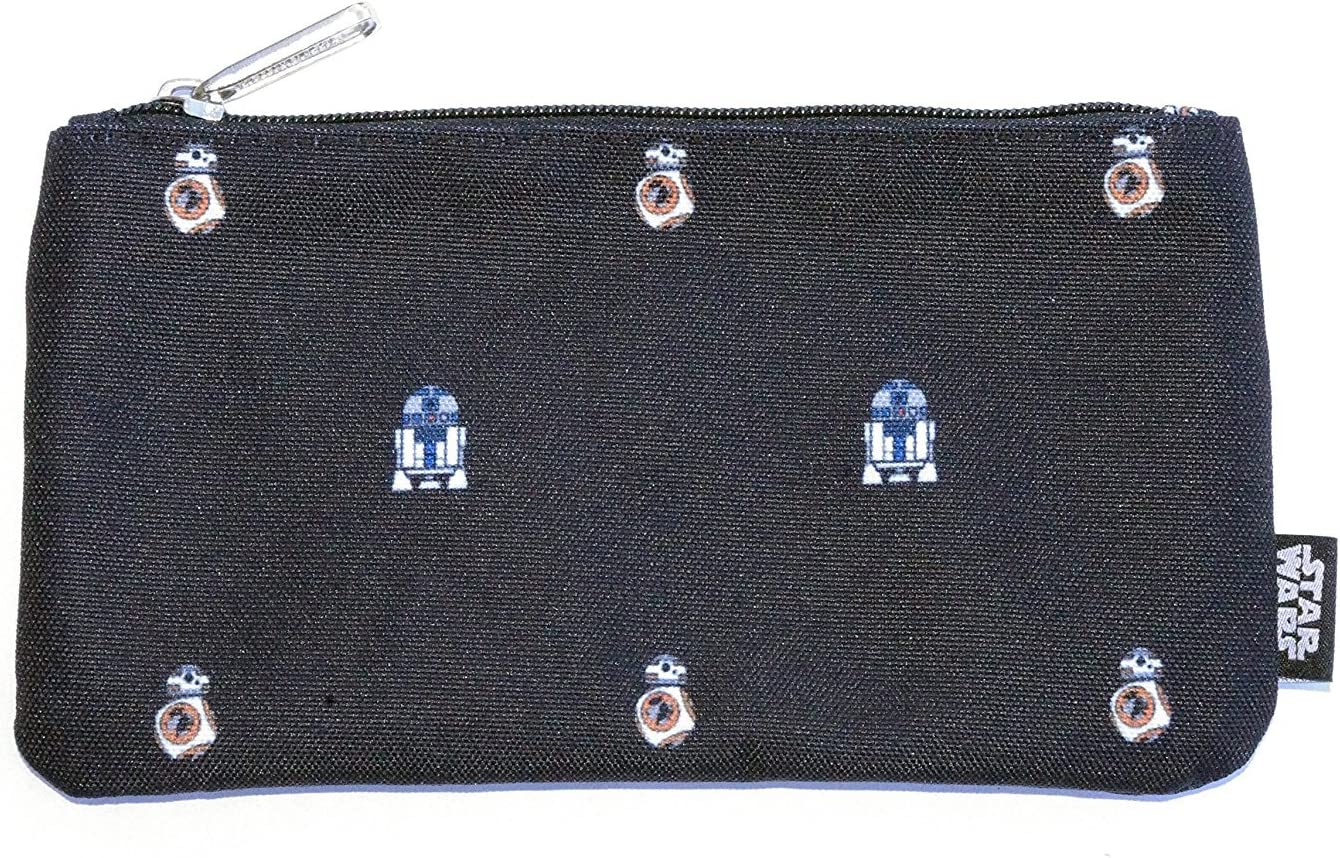 Loungefly Star Wars BB8 R2D2 AOP Pencil Case