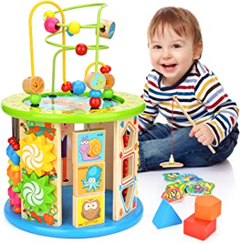Victostar 10-in-1 Round Activity Cube For Babies