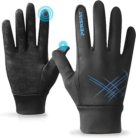 utilizzabili per lo sci il campeggio l/' escursionismo Guanti invernali antivento termico nero adatti a schermi tattili Guanti Impermeabili Invernali Touchscreen la caccia l/' arrampicata