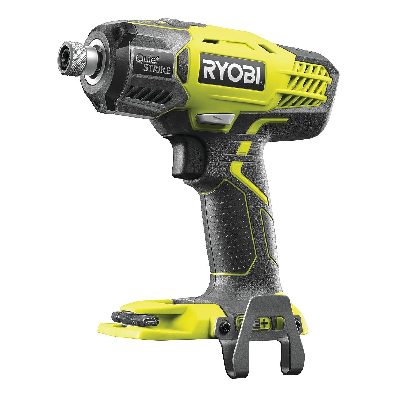 Ryobi R18QS-0 - Destornillador de impacto silencioso (18 V, 1 ...