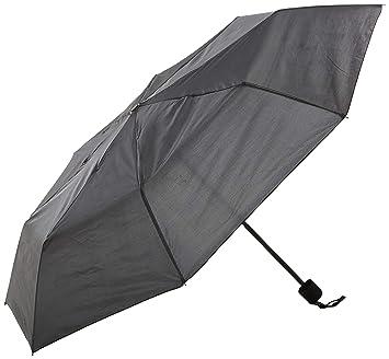 PERLETTI 12278 Gent Mini 54/8 - Paraguas para Hombre (Mango de Goma,