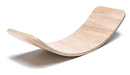 Swing Balance Board madera transparente lacado Yoga Board ...