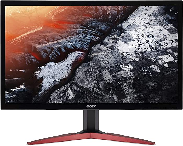 "Acer KG241Q Pbiip 23.6"" Full HD (1920 x 1080) TN 144Hz 1ms Monitor with AMD FREESYNC Technology (Display Port & 2 x HDMI)"