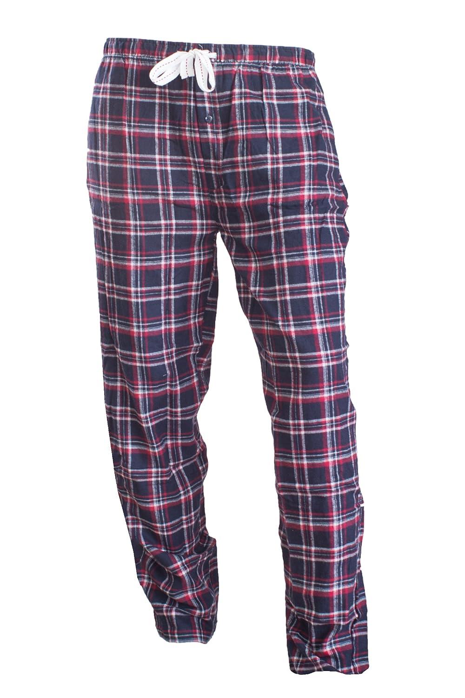 3fc7ce0dce2a46 Livergy Herren Flanell Pyjama Schlafanzug Nachtwäsche Oberteil + Hose (L  52/54, Blau): Amazon.de: Bekleidung