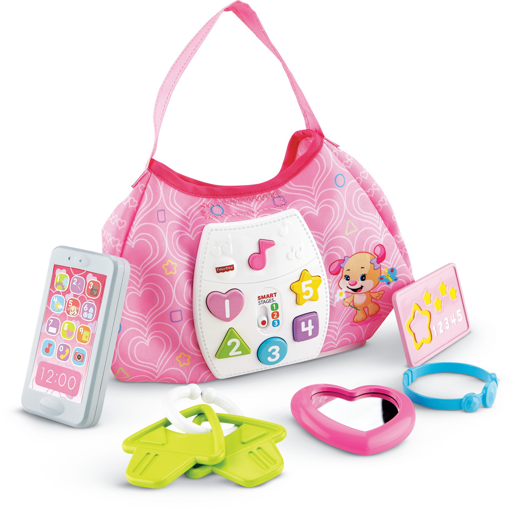 Fisher-Price Laugh & Learn Sis' Smart Stages Purse by Fisher-Price (Image #1)