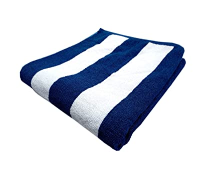 Space Fly Cotton Super Absorbent Towels Big Size Bath Towels (30X60 Inch_Multi, Cabana)