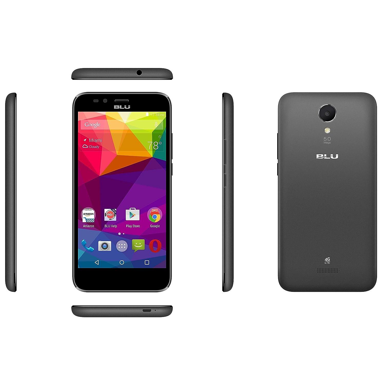 BLU Estudio G LTE Smartphone - gsm Desbloqueado - Negro: Amazon.es ...