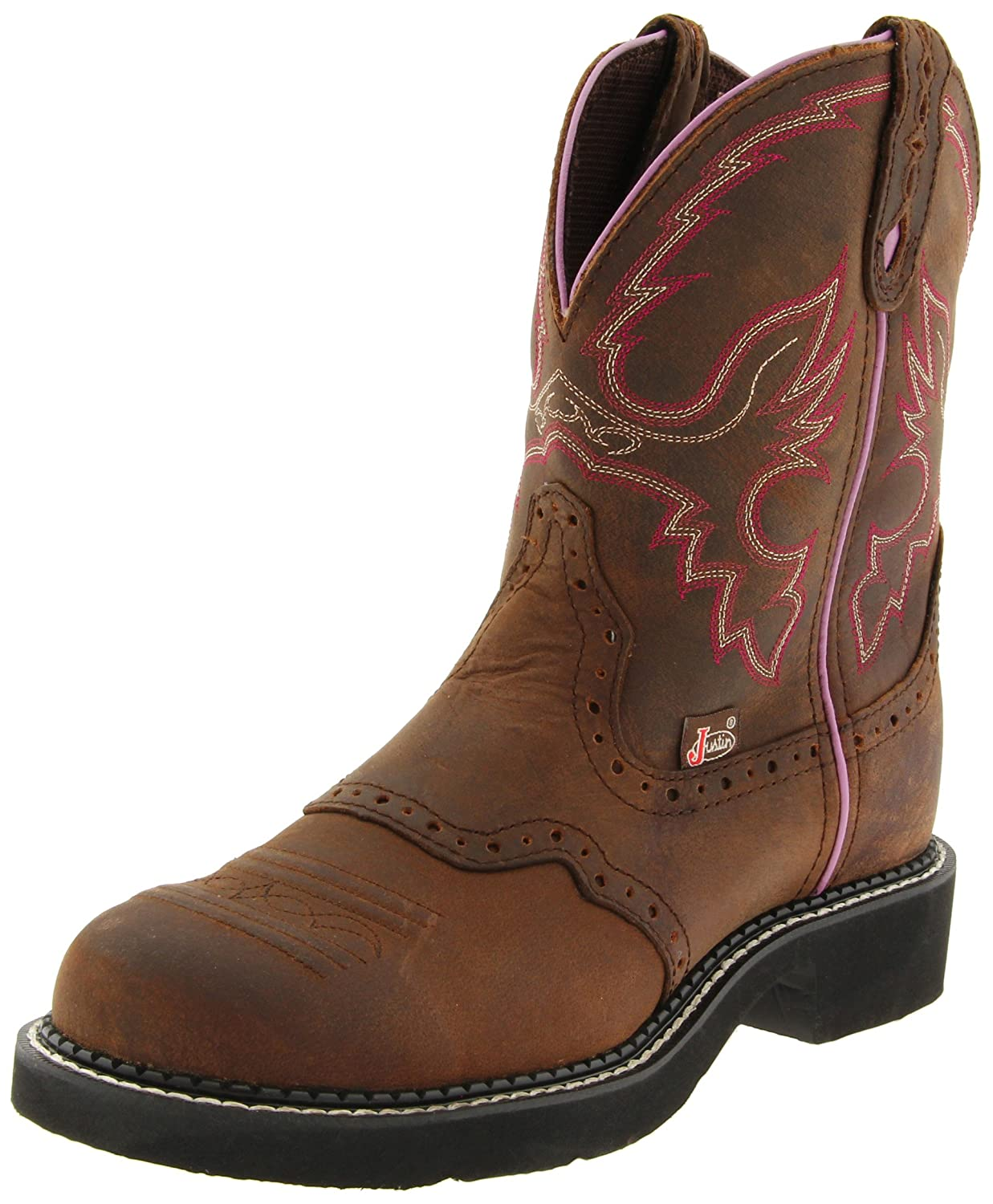 Justin Boots Women's Gypsy Collection Western Boot B00131C29M 5 B(M) US|Aged Bark
