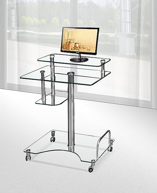 modernique Roley cristal ordenador portátil PC escritorio mesa ...