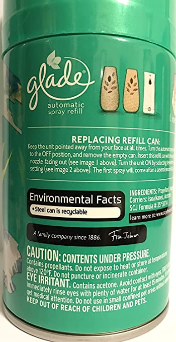 acb0f2ad2397 Glade Automatic Spray Refill - Limited Edition - Matcha Garden - Green Tea  & Aloe - Net Wt. 6.2 OZ (175...