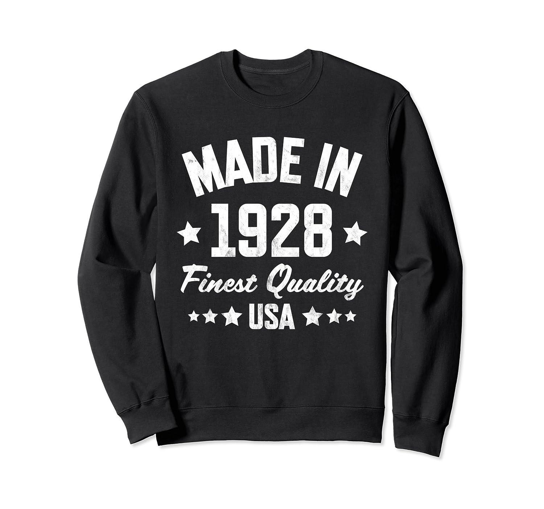 90th Birthday Sweatshirt : Made in 1928 Sweatshirt-alottee gift