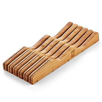 Amazon.com: Cook N Home - Bloque de bambú para guardar ...