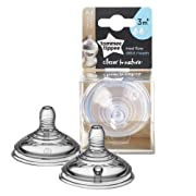 Tommee Tippee Closer to Nature Nipples, Medium Flow, 2 Count