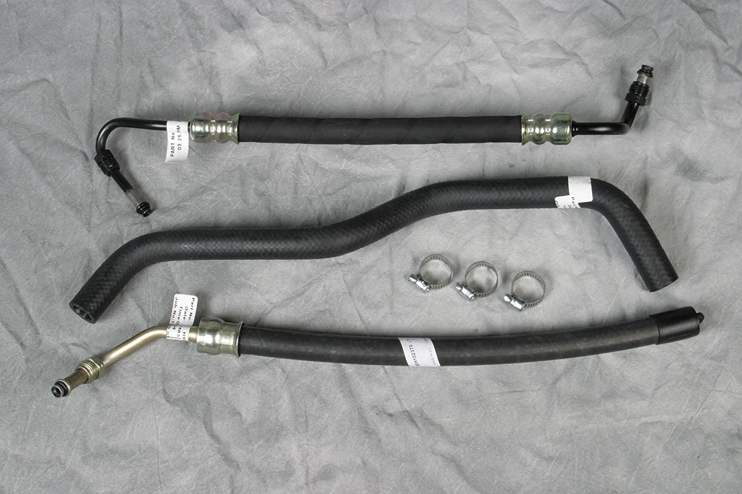 Land Rover Power Steering Hose Kit for Discovery 1 and Range Rover Classic Atlantic British Ltd.
