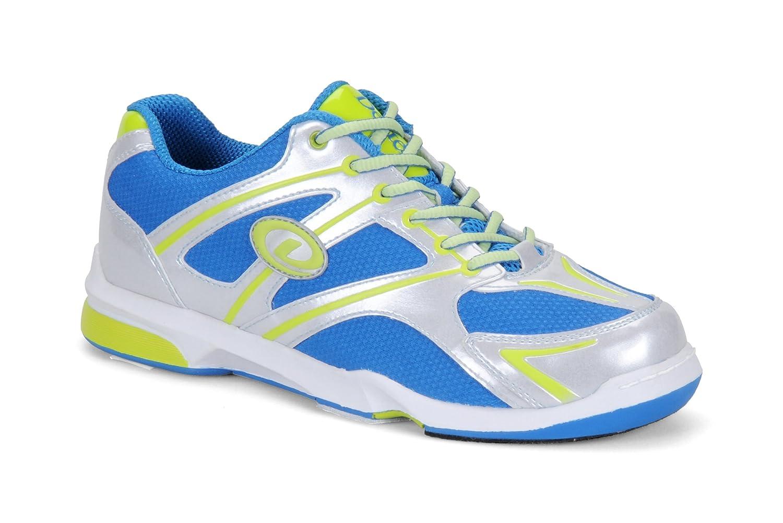 Dexter Men's Max Bowling Shoes, Silver/Blue/lime DEXT3
