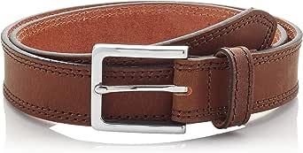 Marca Amazon - Hikaro Cinturón de Cuero Hombre