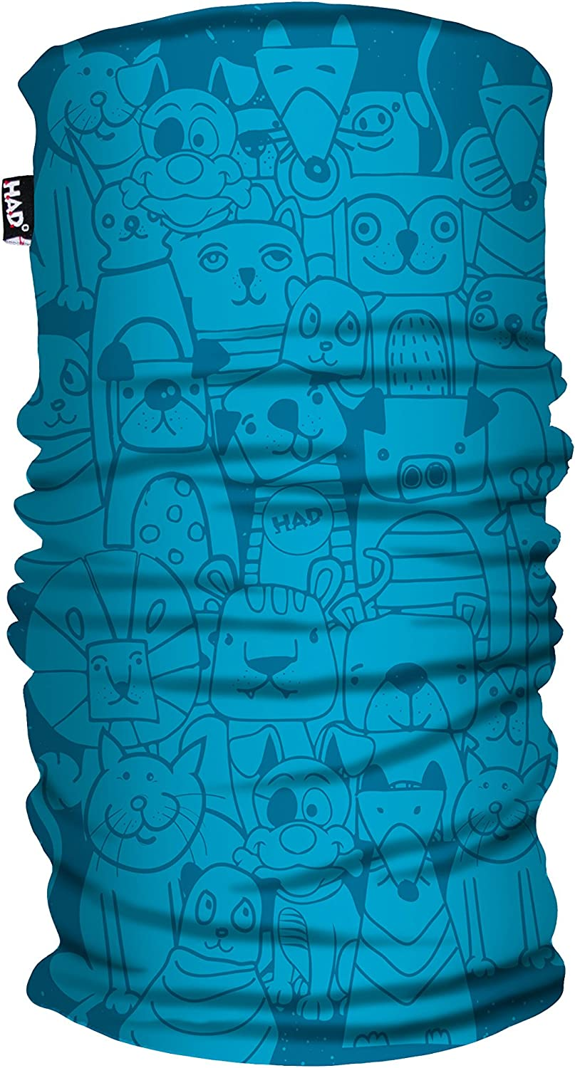 Had Kids Printed Fleece Tube//One Size Funktionstuch