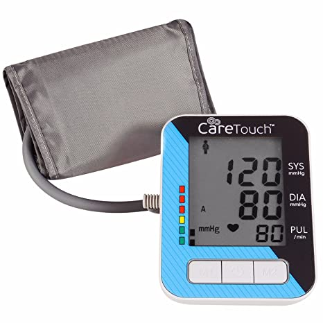 Amazon.com: Care Touch Blood Pressure Monitor with AC Adapter - Fully Automatic Upper Arm Digital BP Cuff with AC Adapter, Classic Edition, ...