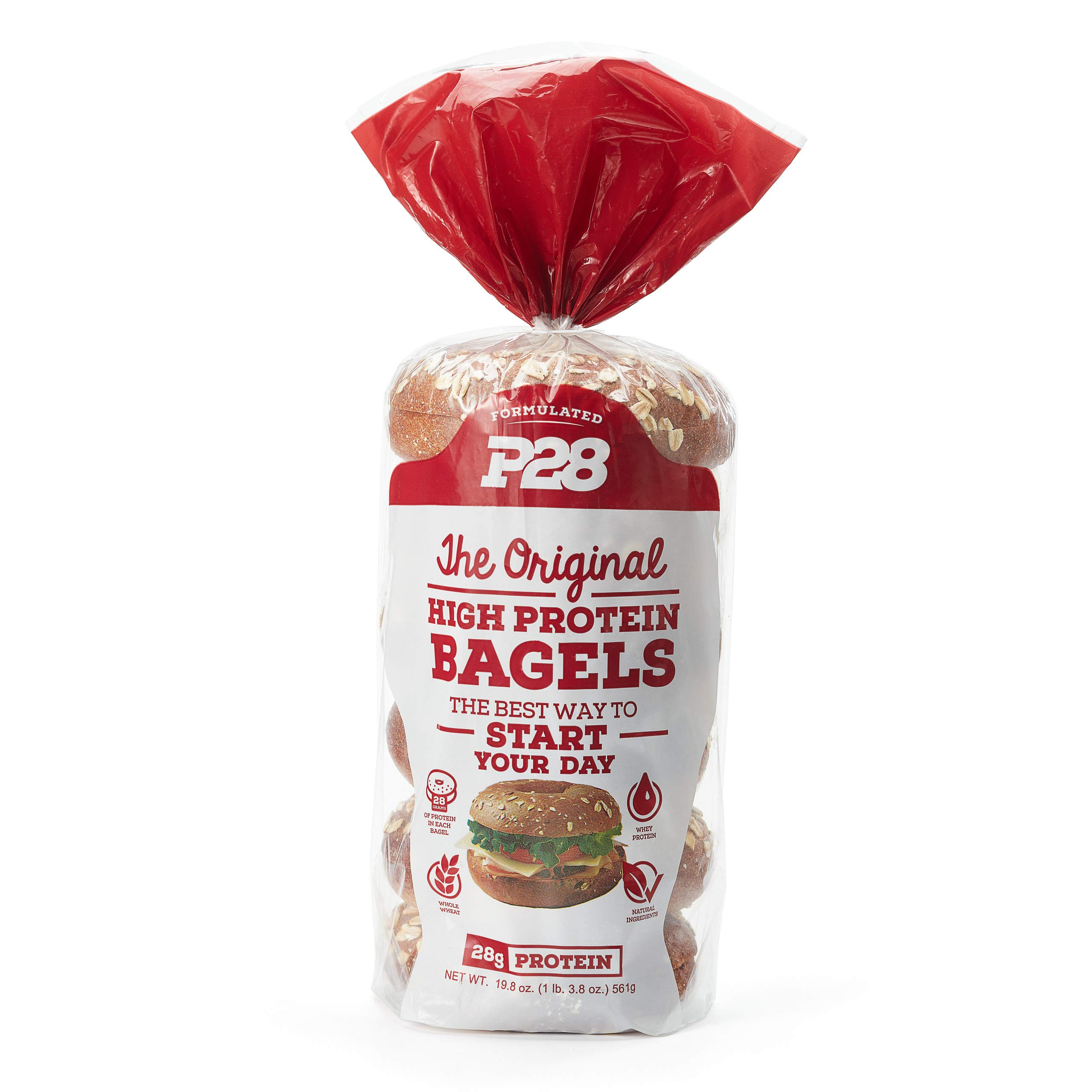 P28 High Protein Bagels, 19 OZ by P28 Foods (Image #1)