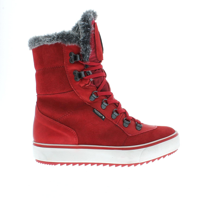 Santana Women's Mixx Boot in Red B0798VFL5X 7 B(M) US