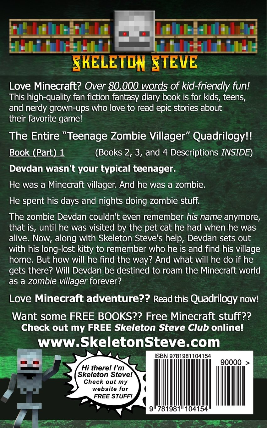 Diary of a Teenage Zombie Villager Quadrilogy - An ...