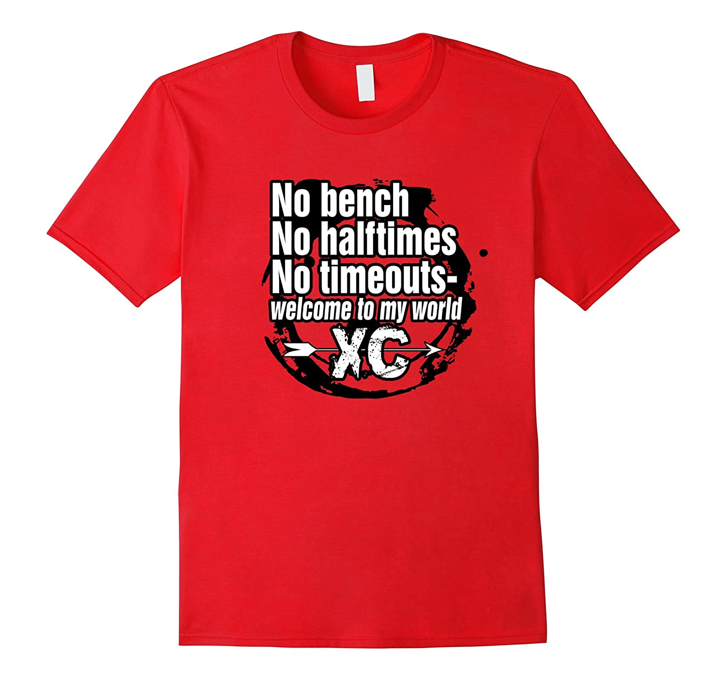 Welcome To My World Cross Country Runner T-Shirt-TJ