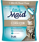 LitterMaid 70001 Premium Clumping Corn Cob Litter