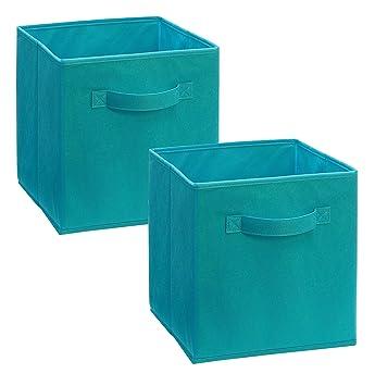 ClosetMaid 11530 Cubeicals Fabric Drawer, Ocean Blue, 2 Pack