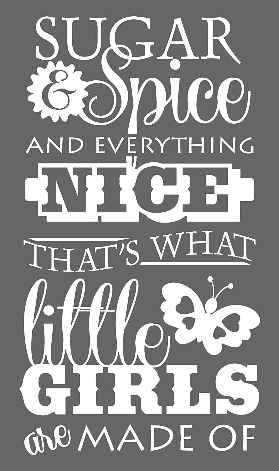 Sugar Spice and Everything Nice Kid Room Decor Wall Art Poster