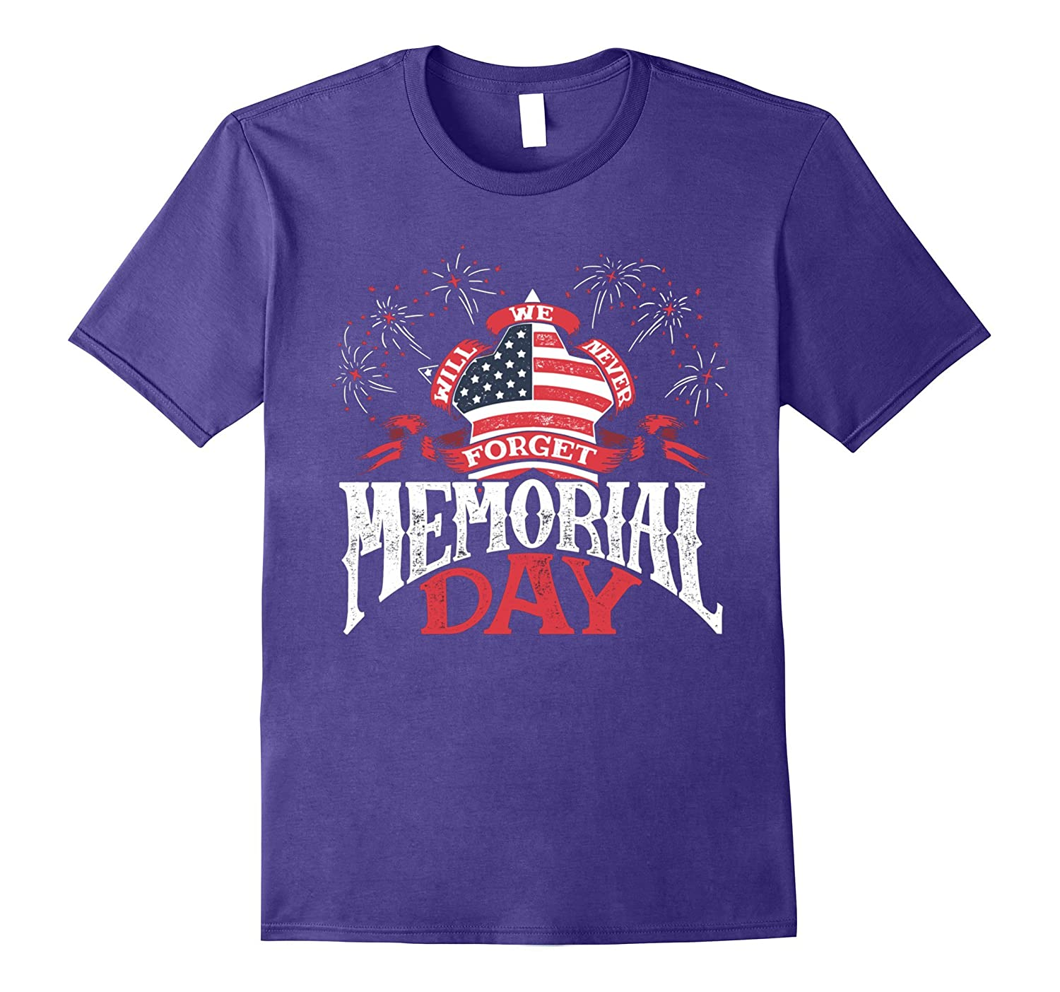 We Will Never - Memorial Day Shirt-CD