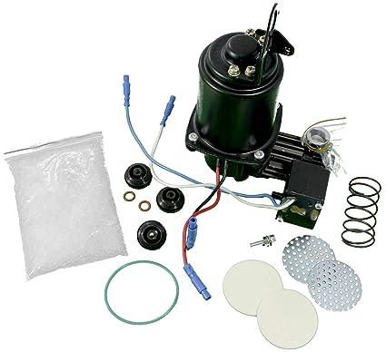 APDTY 112568 Air Ride Suspension Compressor w/Receiver Dryer Rebuild Kit  Fits 2000-2014 Cadillac Escalade Chevy Avalanche Suburban Tahoe Denali GMC