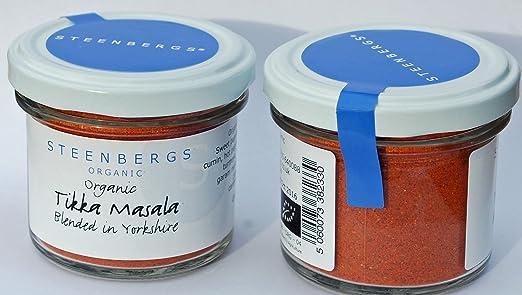 Organic Tikka Masala Curry Powder Standard 50g: Amazon.co.uk: Grocery