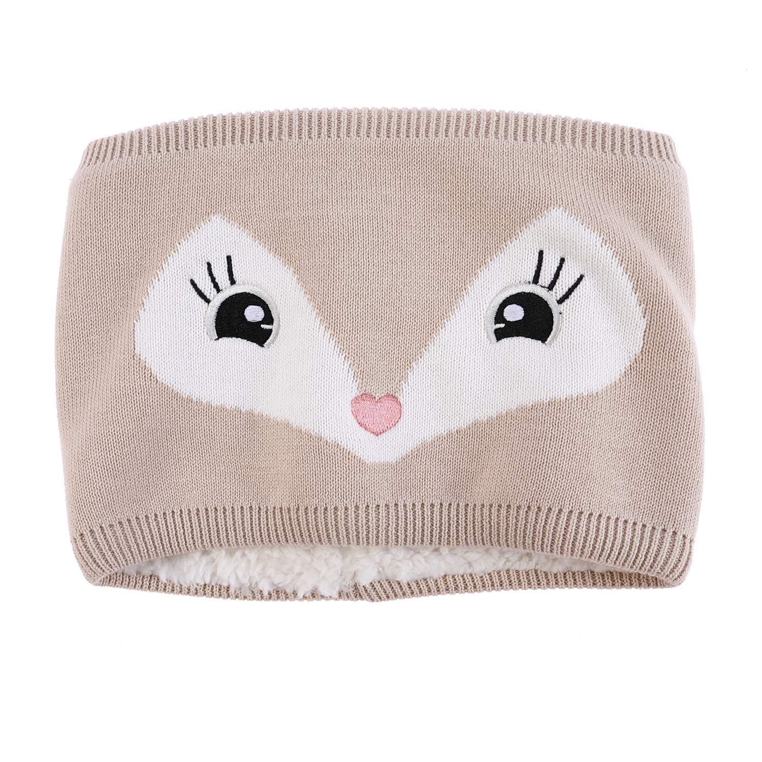 Amazon.com  Adorable Fox Hat Gloves Scarf Set Warm Knit Baby Cotton Earflap  Cap and Scarves with Stretchy Baby Gloves  Clothing 61b35ff78161