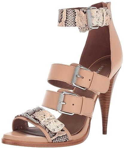 ce0e02ebded06 Amazon.com  BCBGMAXAZRIA Women s Gloria Buckle Sandal Heeled  Shoes