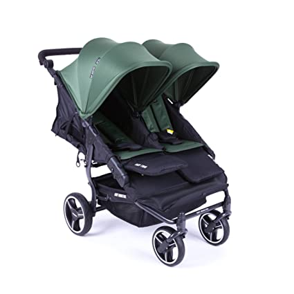 NUEVA Silla Gemelar Easy Twin 3.0.S con capota reversible de paseo Baby Monsters -