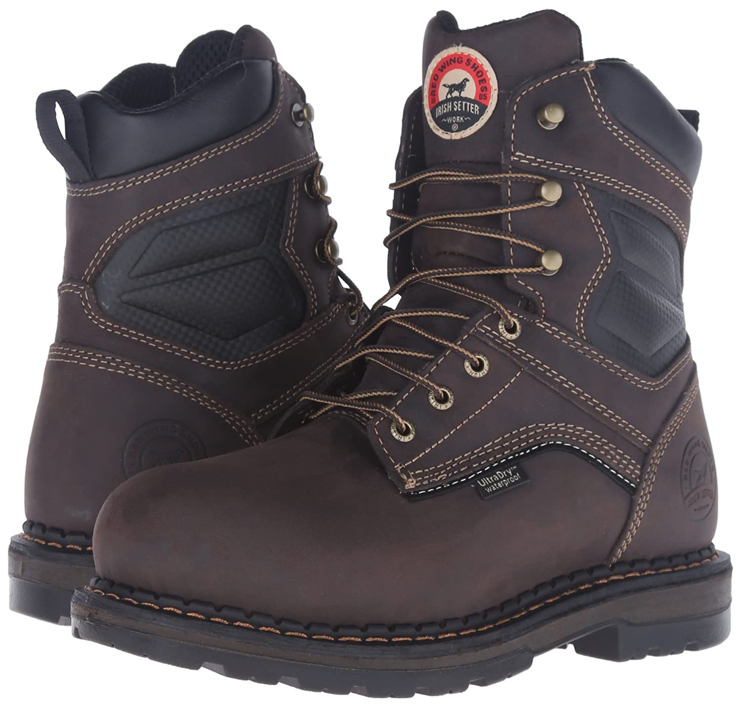 4971b36c663 Irish Setter Work Men's 83822 Ramsey Waterproof Insulated 8 Inch Boot