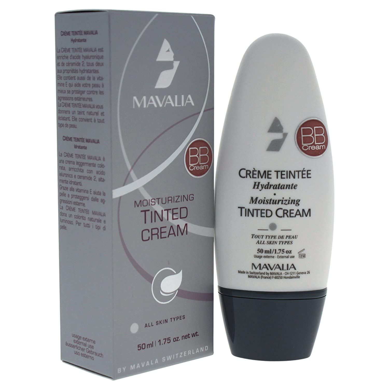 Mavala BB Cream Moisturizing Tinted No.06 Beige Ambre Makeup, 1.75 Ounce